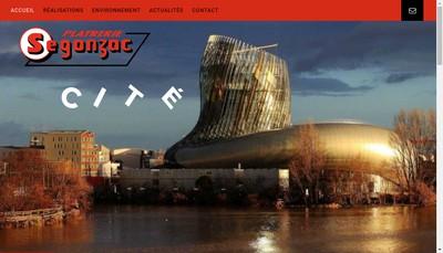 Site internet de Segonzac SAS