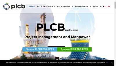 Site internet de Plcb