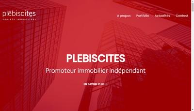 Site internet de Plebiscites