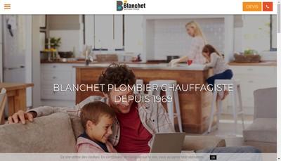 Site internet de Entreprise Blanchet