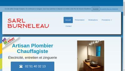 Site internet de SARL Burneleau