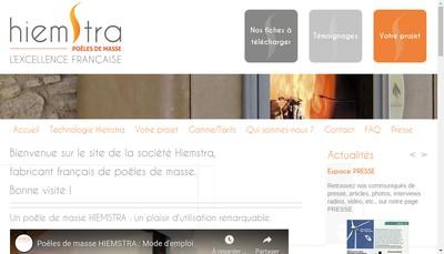 Site internet de Poeles de Masse