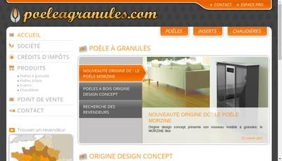 Site internet de Poele a Granules Com