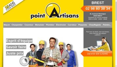 Site internet de Point Artisans D Depanage Abacad Abss