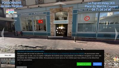 Site internet de Velay Maree