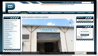Site internet de Polyester 93