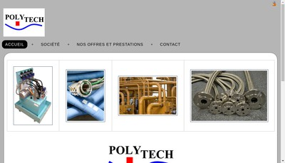 Site internet de SARL Polytech