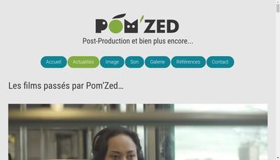Site internet de Pom'Zed