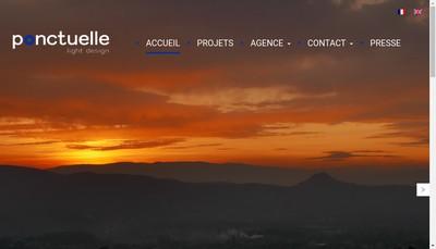 Site internet de Ponctuelle