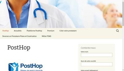 Site internet de Posthop