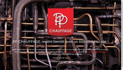Site internet de Pp Chauffage