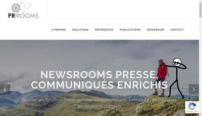 Site internet de Pr Rooms