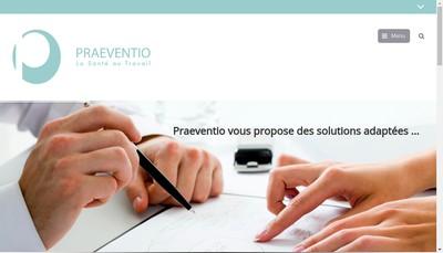 Site internet de Praeventio