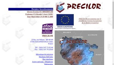 Site internet de Precilor