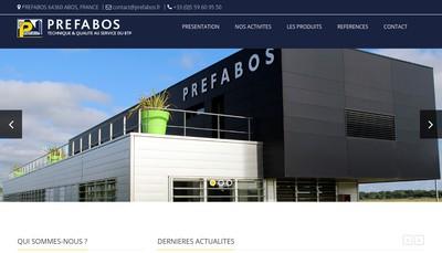 Site internet de Prefabos