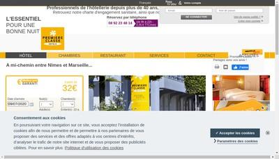 Site internet de Invest Hotels Chaville Bordeaux Arles