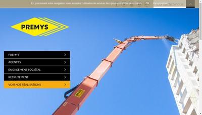 Site internet de Premys