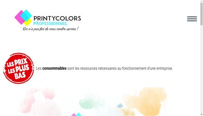 Site internet de Printycolors
