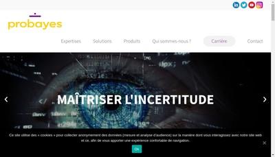 Site internet de Probayes