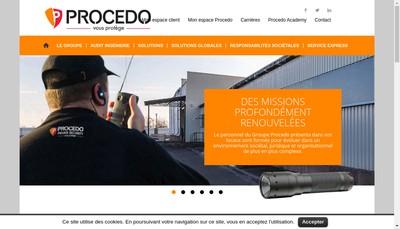 Site internet de Procedo