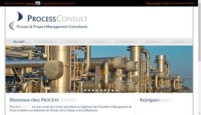 Site internet de Processconsult
