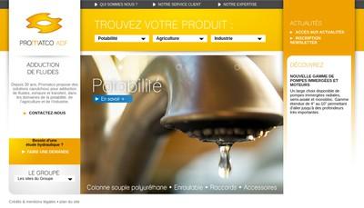 Site internet de Promatco