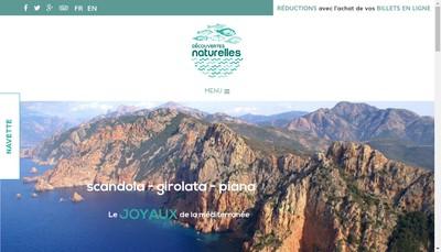 Site internet de Decouvertes Naturelles