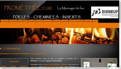 Site internet de Promethee