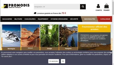 Site internet de Promodis