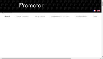Site internet de Promofar