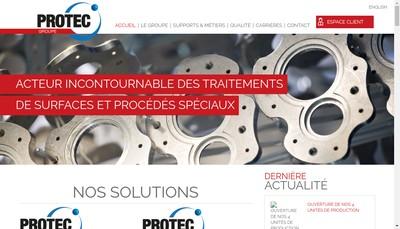 Site internet de Protec Industrie Protec Sce Industrie