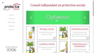 Site internet de Frederique Campain
