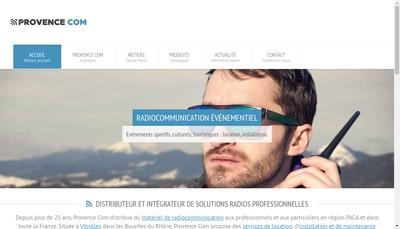 Site internet de Provence Com