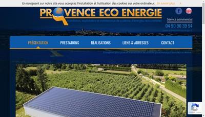 Site internet de Provence Fi 1