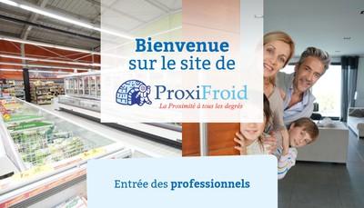 Site internet de Holding Proxifroid