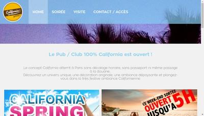 Site internet de California Avenue
