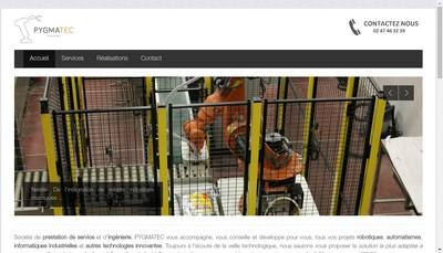 Site internet de Pygmatec