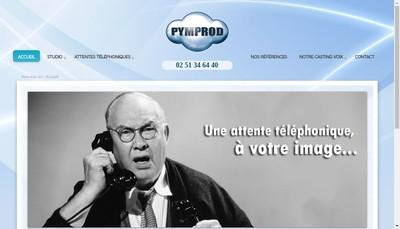 Site internet de La Voix de Pierre Pym-Events