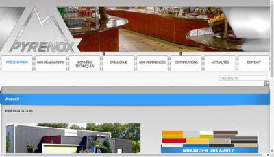 Site internet de Pyrenox