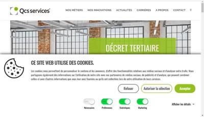 Site internet de Qualiconsult Securite