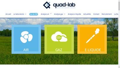 Site internet de Quad Lab