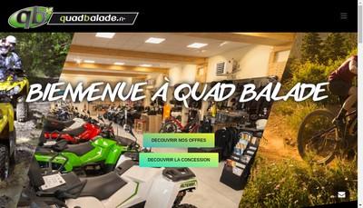 Site internet de Quad Balade