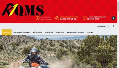 Site internet de R1 Quads Motos Scooters