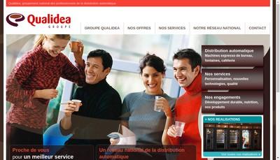 Site internet de Groupement Qualidea