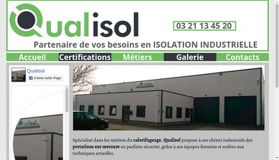 Site internet de Qualisol
