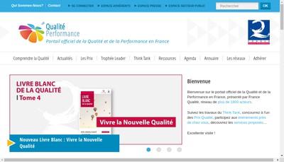 Site internet de Service Qualite Performance