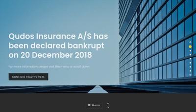 Site internet de Qudos Insurance AS