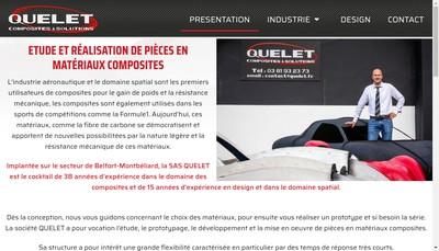 Site internet de Quelet