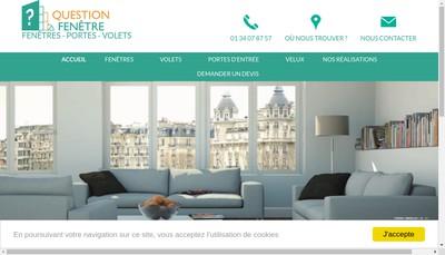 Site internet de Question Fenetre