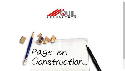 Site internet de Transports Quil